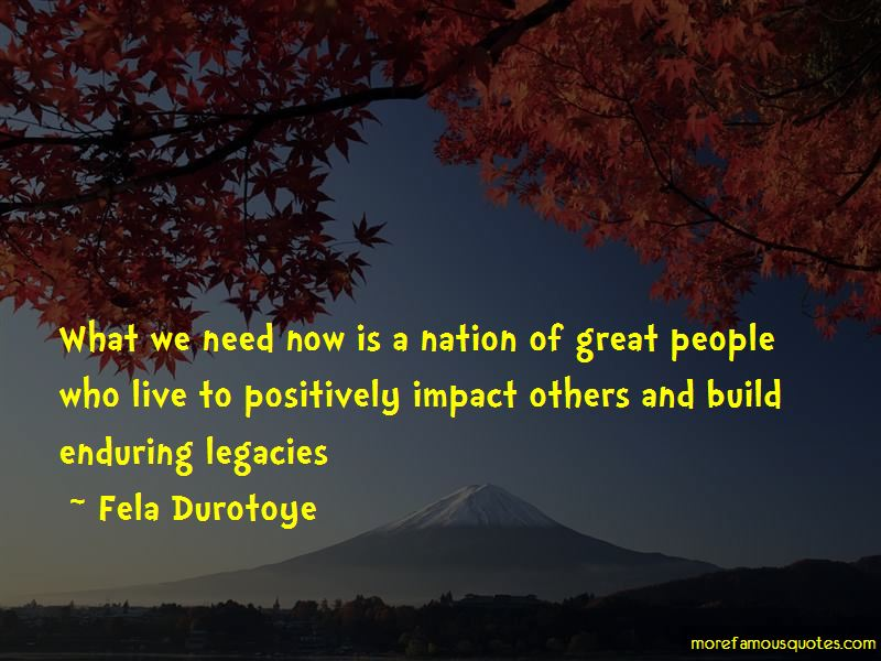 Quotes About Positively Impact On Others