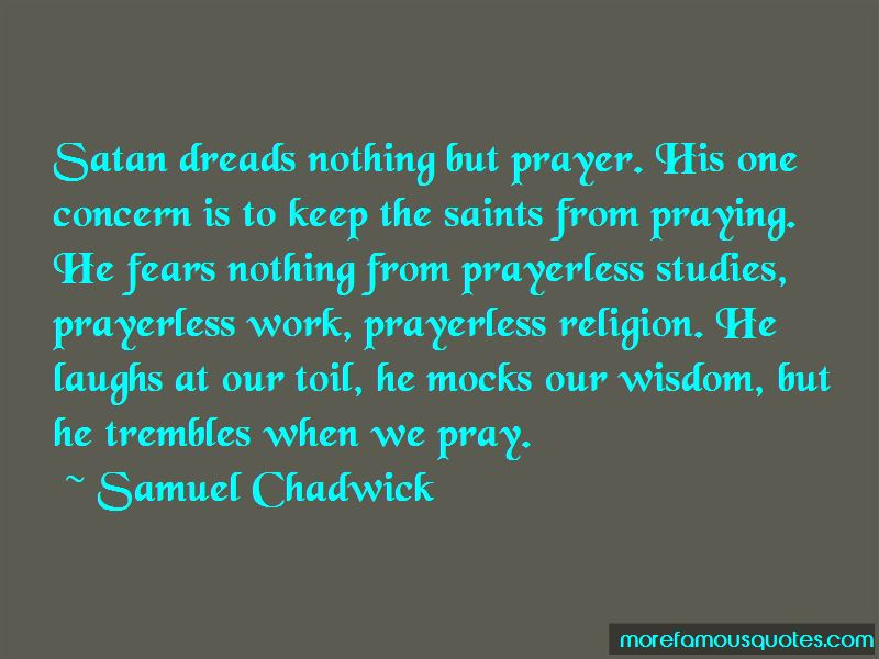 Quotes About Prayer From Saints