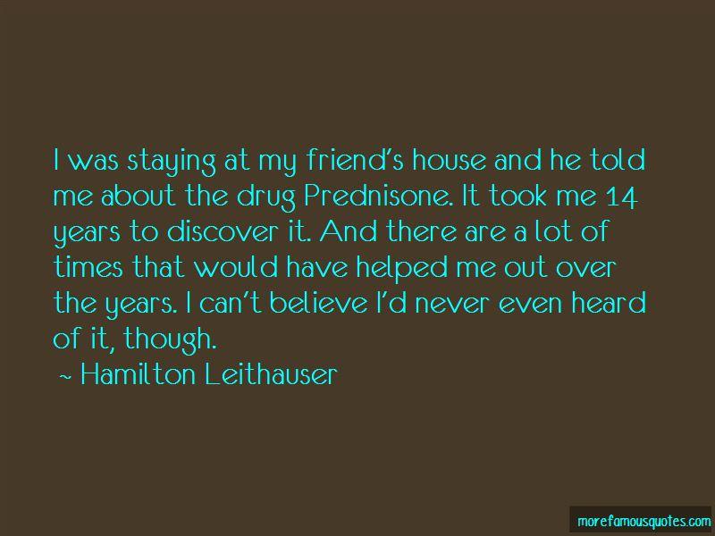 Quotes About Prednisone