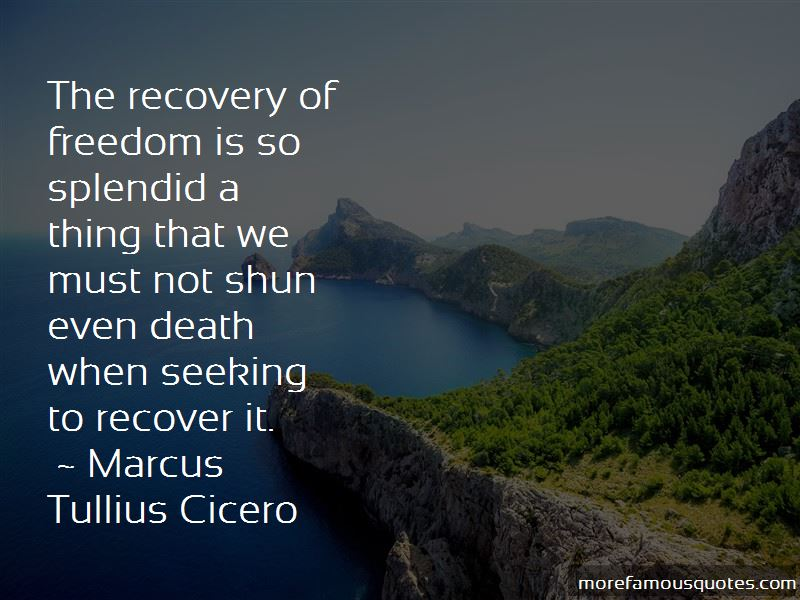 Quotes About Recovery From Death