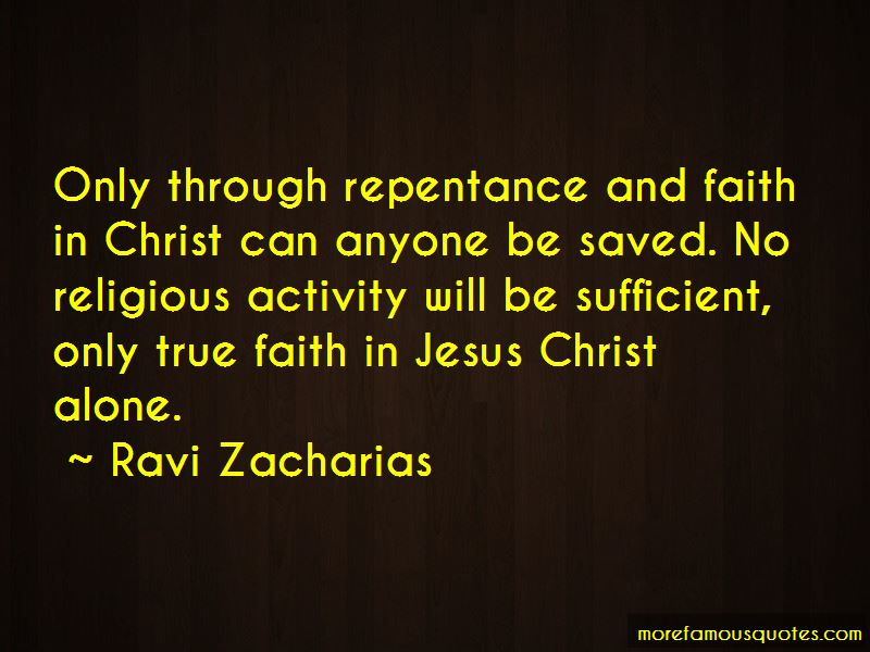 Quotes About Repentance And Faith