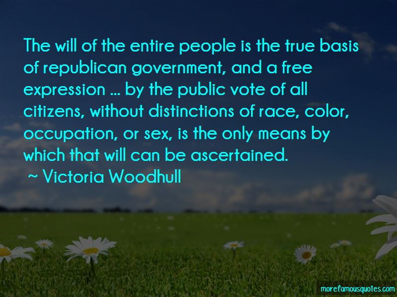 Quotes About Republican Government