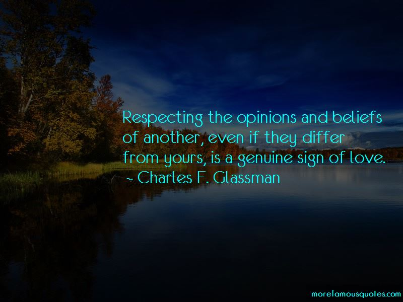 Respecting Opinions Quotes Pictures 3