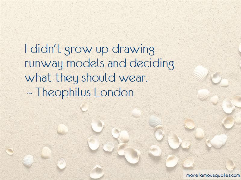 Quotes About Runway Models
