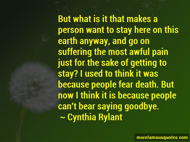 Quotes About Saying Goodbye Because Of Death: top 1 Saying ...