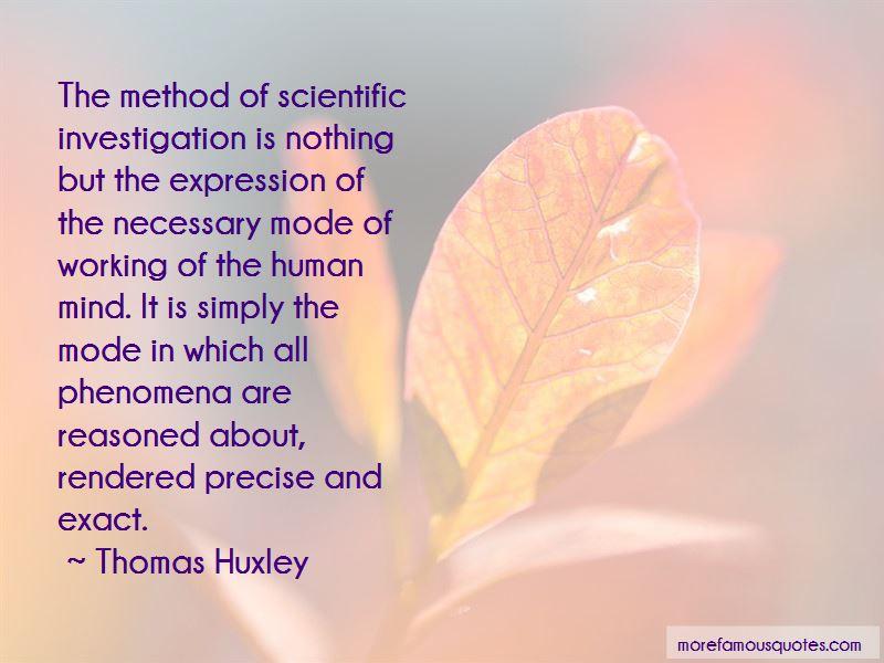 Scientific Investigation Quotes Pictures 2