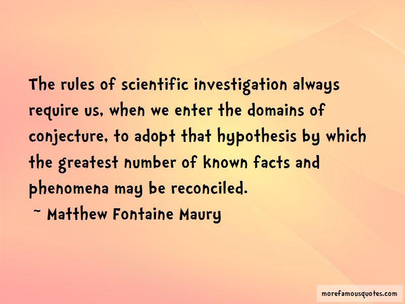 Quotes About Scientific Investigation