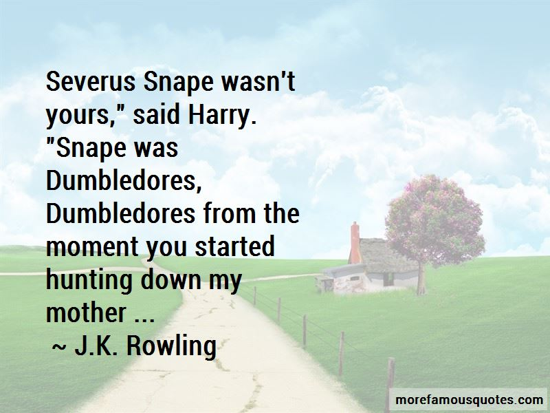 Quotes About Severus Snape