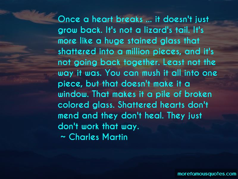 Quotes About Shattered Hearts