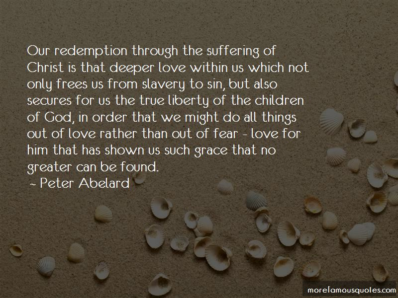 Quotes About Sin Suffering And Redemption