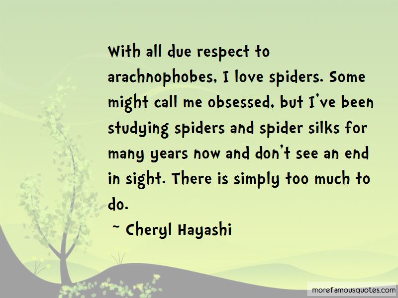 Quotes About Spiders And Love