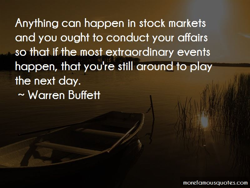 Quotes About Stock Markets