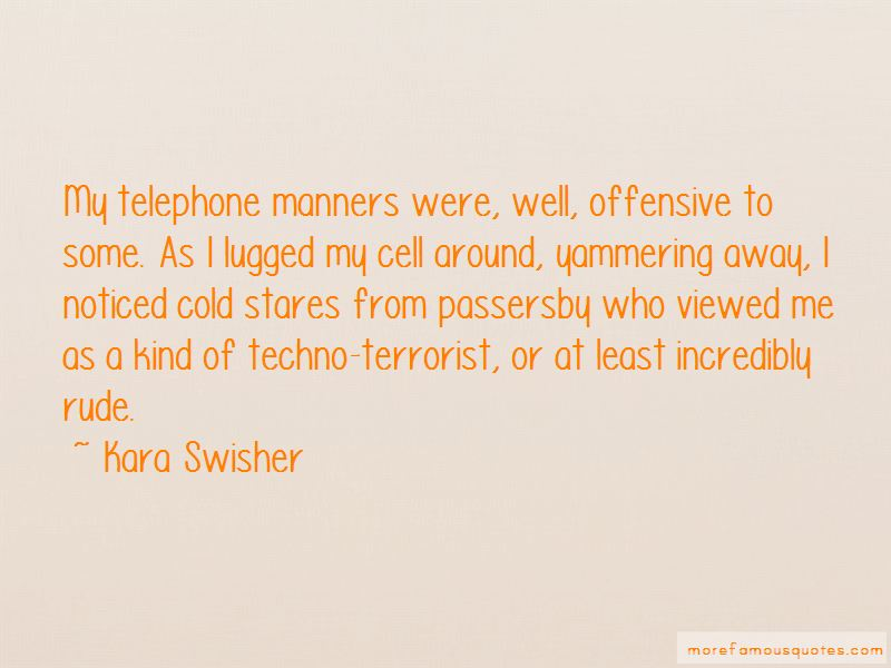 Quotes About Telephone Manners