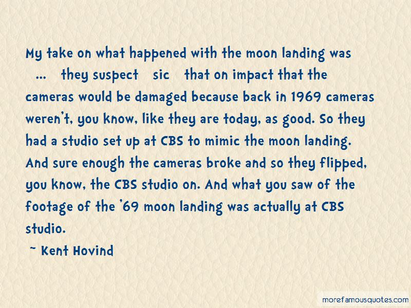 Quotes About The 1969 Moon Landing