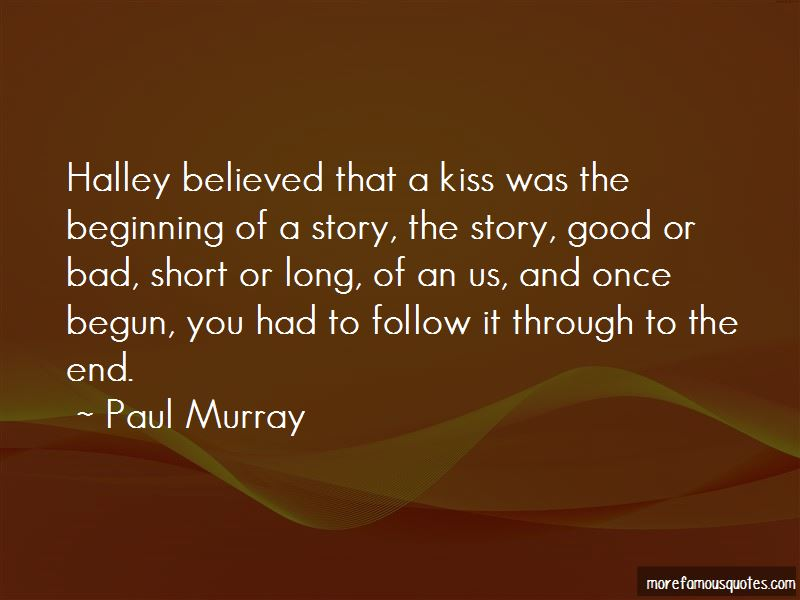 Quotes About The Beginning Of A Story