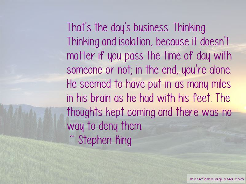 Quotes About The Day Coming To An End