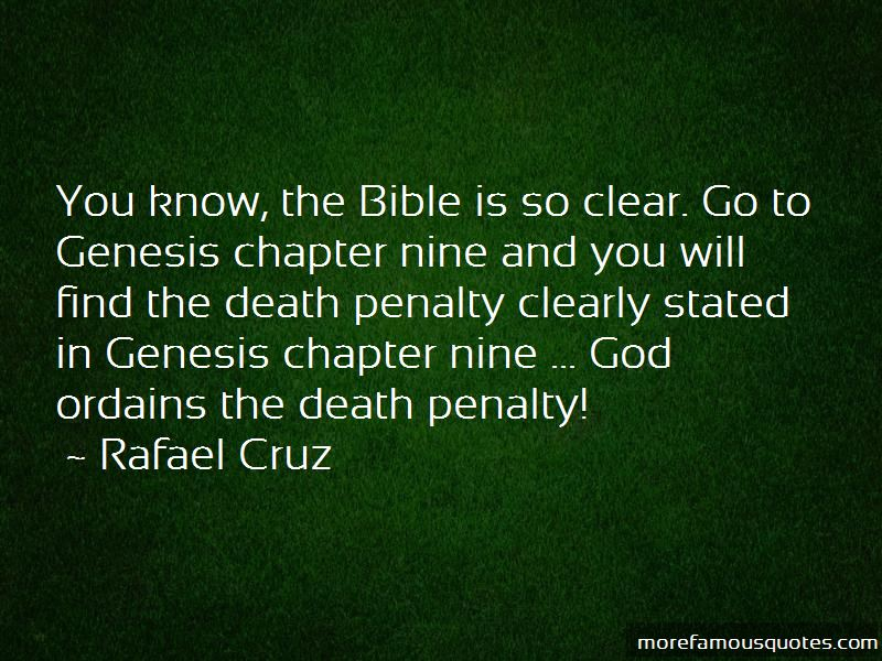 Quotes About The Death Penalty From The Bible