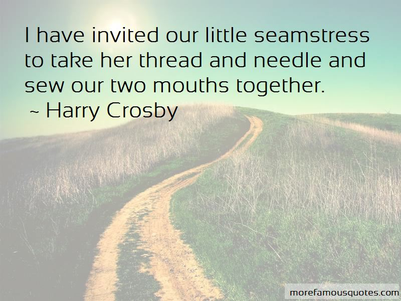 Quotes About The Little Seamstress