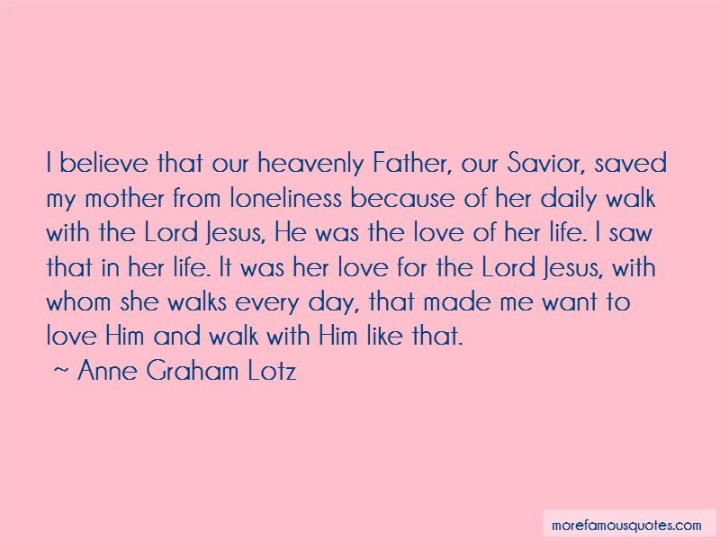 Quotes About The Lord Jesus