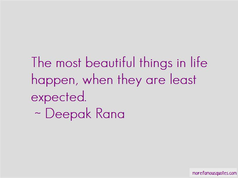 Quotes About The Most Beautiful Things In Life