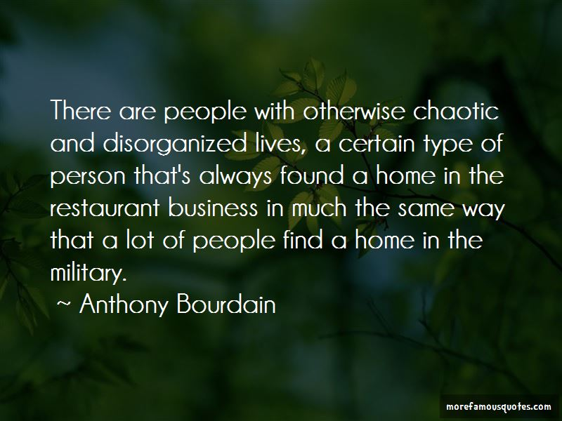 Quotes About The Restaurant Business