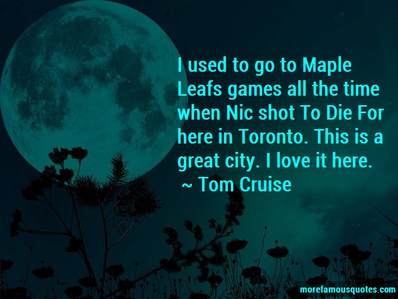 The Toronto Maple Leafs Quotes Pictures 4