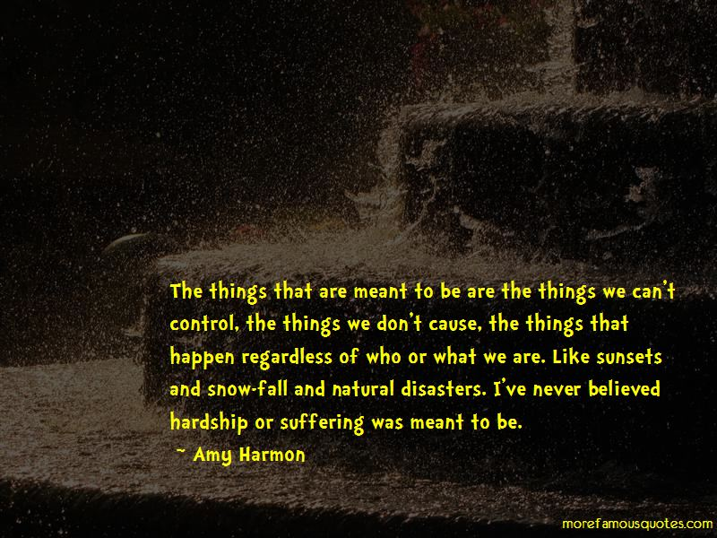 Things That Are Meant To Be Quotes Pictures 2