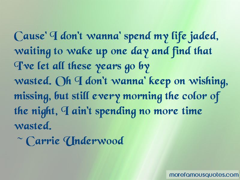 Quotes About Time Wasted