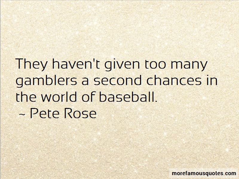 Quotes About Too Many Second Chances