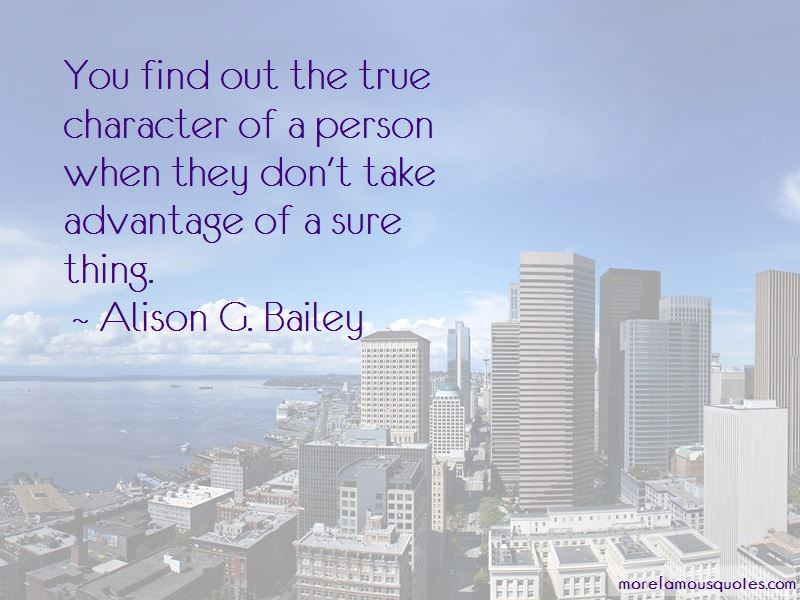 True Character Of A Person Quotes Pictures 2