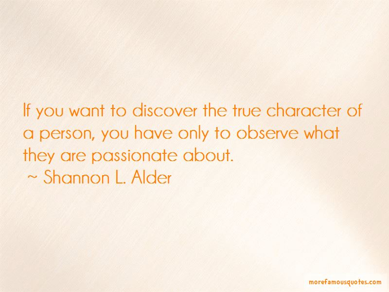 Quotes About True Character Of A Person