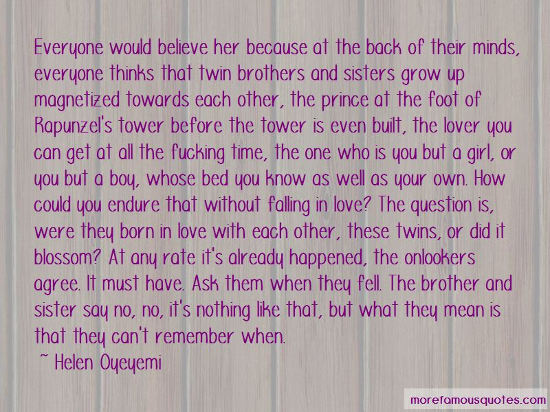 Quotes About Twin Sister Love: top 5 Twin Sister Love quotes from