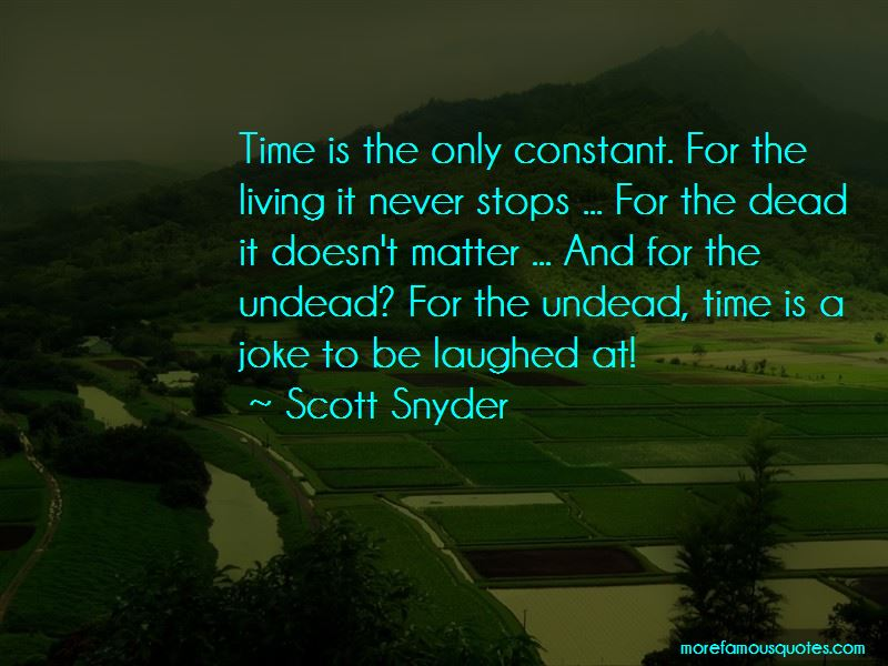 Quotes About Undead