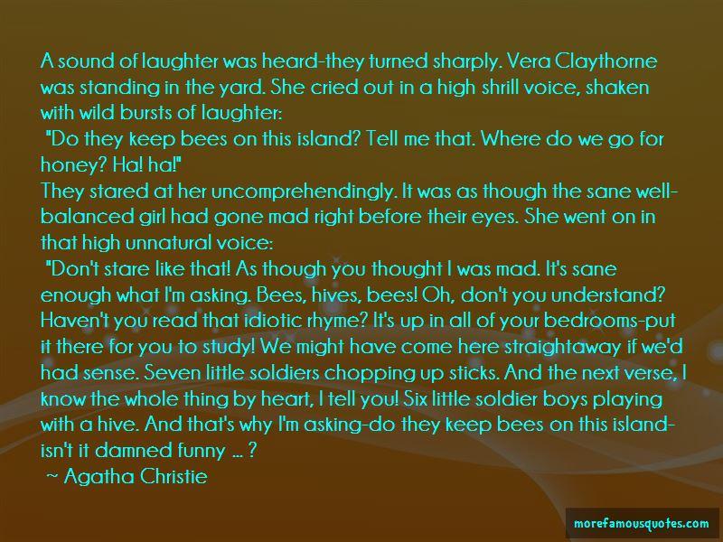 Quotes About Vera Claythorne