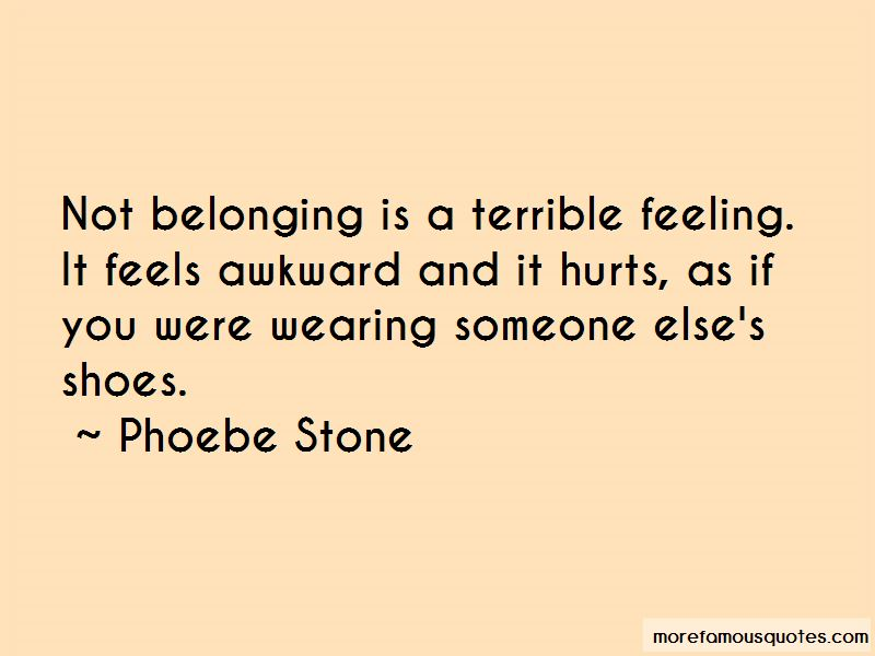 Quotes About Wearing Someone Else's Shoes