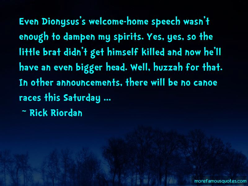 Quotes About Welcome Speech