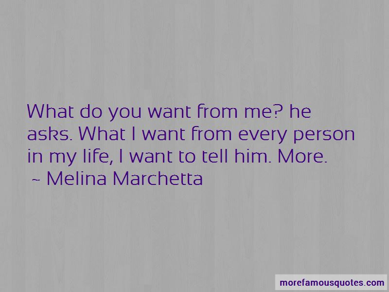 What Do You Want From Me Quotes Pictures 4