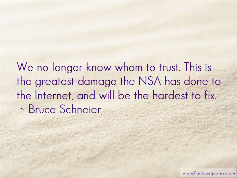 Quotes About Whom To Trust