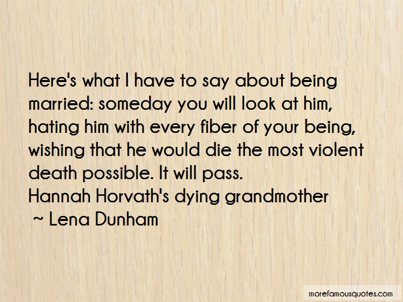 Quotes About Your Grandmother Dying