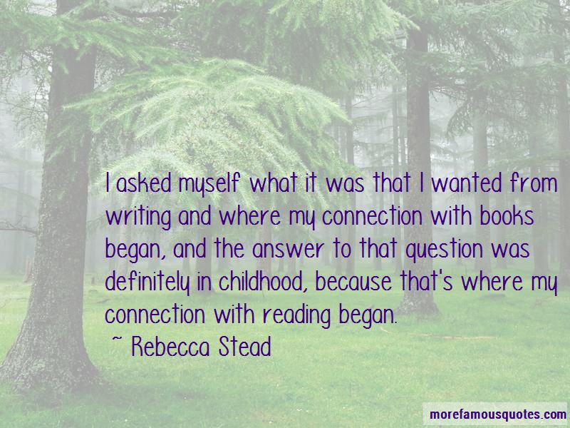 Reading And Writing Connection Quotes