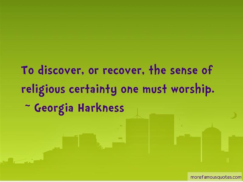 Religious Certainty Quotes