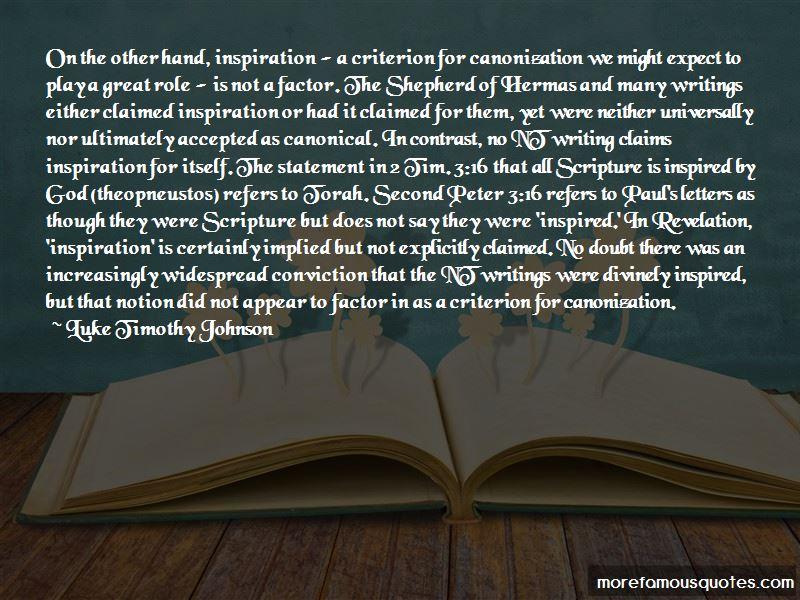 Shepherd Of Hermas Quotes