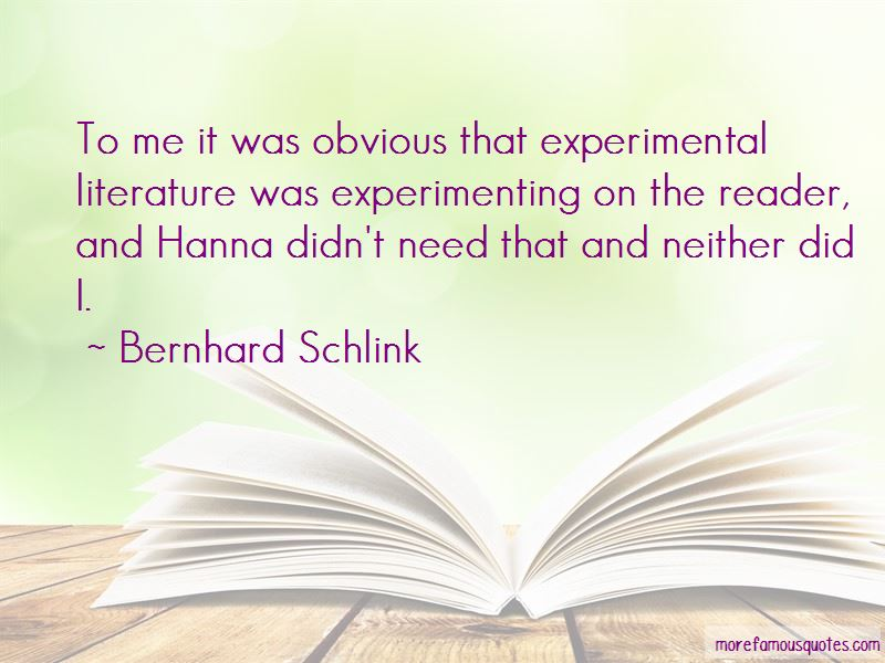 The Reader Hanna Quotes