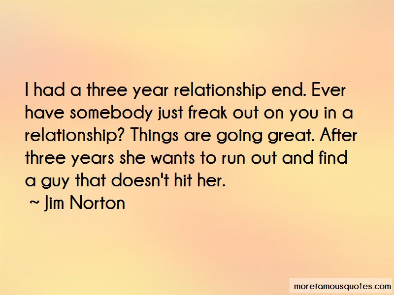 Three Year Relationship Quotes