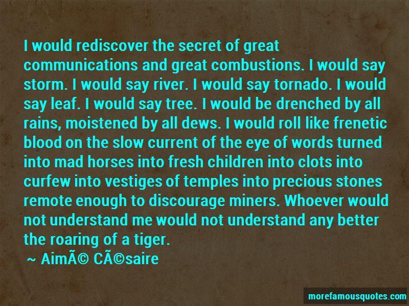 Tiger Roaring Quotes