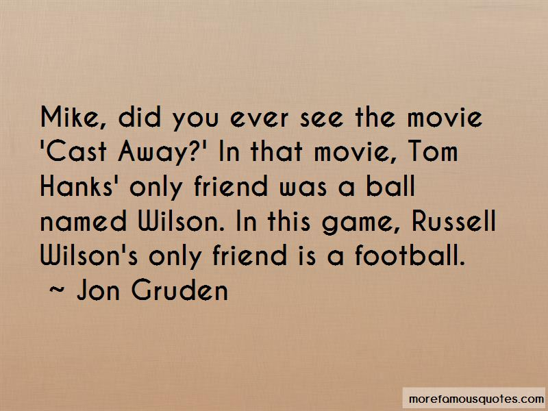 Tom Hanks Wilson Quotes