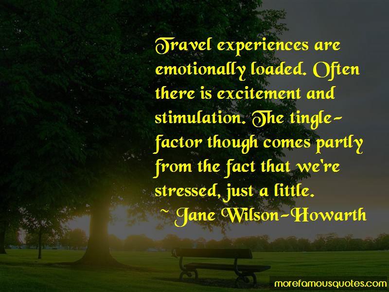 Travel Experiences Quotes