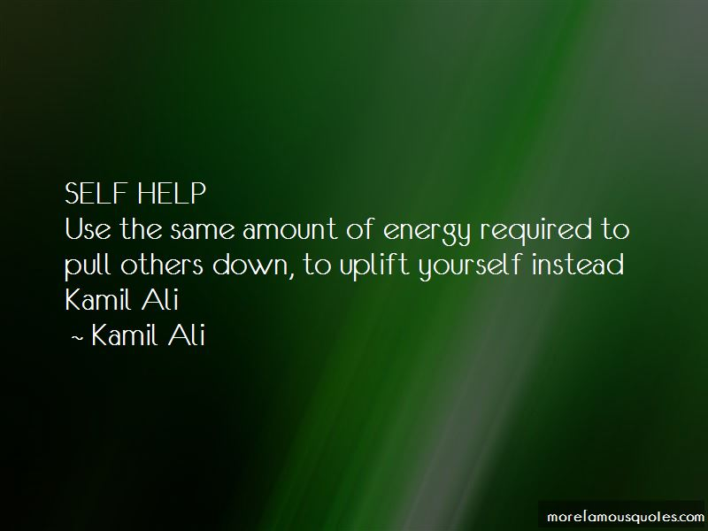 Uplift Yourself Quotes