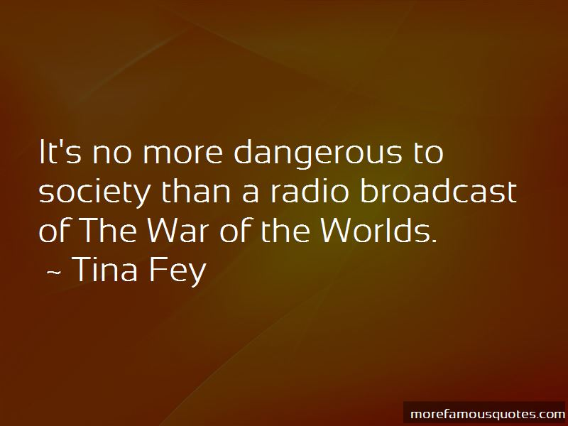 War Of The Worlds Radio Quotes