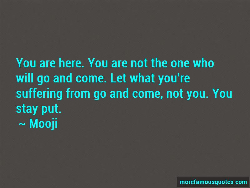 You Are Not The One Quotes
